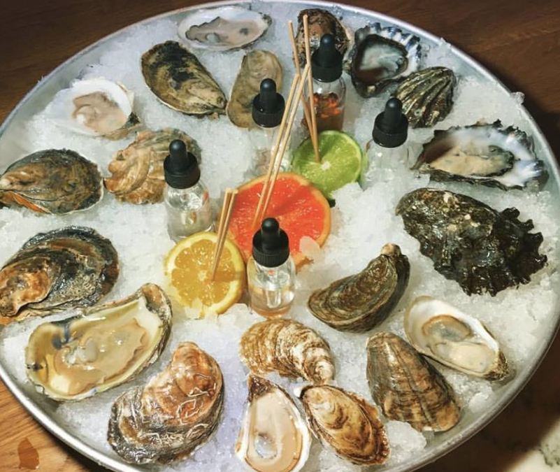 A popup restaurant for oysters? Yes, and it's fabulous!