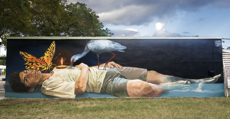St. Pete's murals Shine all year long
